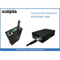 Quality RS-232/RS-485 Network Video Transceiver , Wireless HD Transmitter Two Way Transmission wholesale