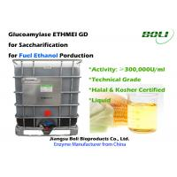 Quality 300,000 U / Ml Glucoamylase Enzyme GD From Starch Substrates Into Fermentable Sugars For Ethanol wholesale