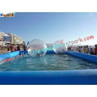 China 0.9MM PVC tarpaulin Inflatable Swimming pool for water ball,bumper boat use POOL-06 on sale