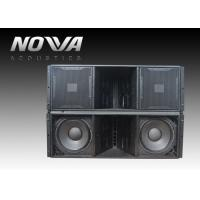 Quality ActiveLine Array Sound System , Ground Stack Line Array Powered Speakers wholesale
