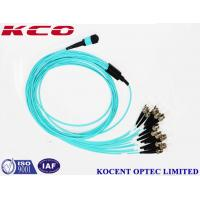 Buy cheap Stable MPO MTP Patch Cord MPO To 12 ST/UPC Multimode With Break Out Kits from wholesalers