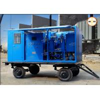 China 110KV Transformer Insulation Oil Purifier With Double Stage Vacuum Pump System on sale