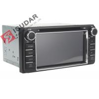 Quality 6.2 Inch Digital Touch Screen Toyota DVD GPS Navigator Car Dvd Player Radio IPod wholesale