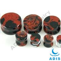 Quality Custom Natural Stone Ear Plugs Stainless Steel 3.5mm - 30mm wholesale