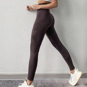 China Seamless Bamboo Yoga Pant Booty Scrunch Bamboo Seamless Fitness Leggings on sale