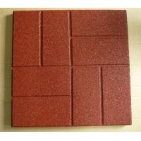Flame Resistant Flooring : Cheap fire retardant custom rubber granules flooring