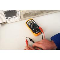 Buy cheap Amp Volt Ohm Voltage Tester Handheld Digital Multimeter With Diode / Continuity from wholesalers