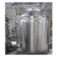 Cheap 500 Gallon Stainless Steel Hot Water Tank , Water Storage Tank High Strength for sale