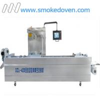 China Automatic vacuum pack thermoforming machine DZL420 on sale