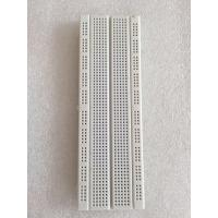 Cheap 16.6 * 5.6* 0.85cm Transparent Electronic Breadboard 830 Tie - Point For for sale