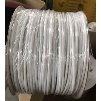Soft White Flexible PVC Tubing Sleeves Flame Resistant For Electrical Wire Protective