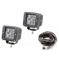 "Quality 4D 3"" Pods Vehicle LED Work Lights 12 Volt - 24 Volt 2 X 2 16W 6000k wholesale"