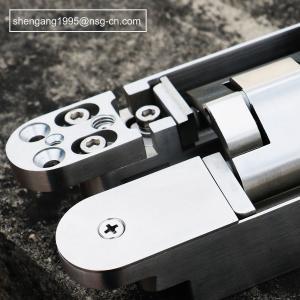 Quality Full Stainless Steel 304 Adjustable Door Hinges 180 Open Loops 160 * 28 * 28 * 32mm wholesale
