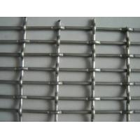 Cheap Stainless Steel Double Crimped Wire Mesh Sand Sieving Square Woven Wire Mesh for sale
