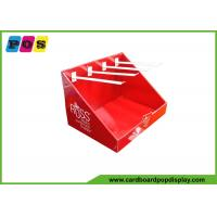 Buy cheap Recycled Paperboard POP Counter Top Cardboard Display With 8