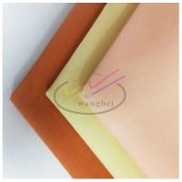 China 80%poly 20%cotton plain woven pocket fabric on sale