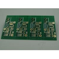 Quality High TG Four Layer Matt Green FR4 PCB Board Immersion Gold Finish White Silkscreen wholesale