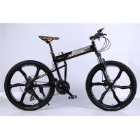 Quality High quality OEM 6 spoke mag one wheel 21 speed black aluminium alloy folding hummer mountain bicicletas wholesale