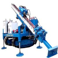 Cheap MDL-135D Hydraulic Device Anchor Drilling Rig great rotary torque and long feeding stroke distance for sale
