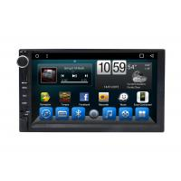 Cheap Automotivo Universal Double Din Car Dvd Player , Central GPS DVD 7 Inch Touch for sale