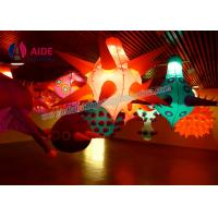 Quality Event Exhibition Inflatable LED Star Hanging Colorful Custom Printed Balloons wholesale