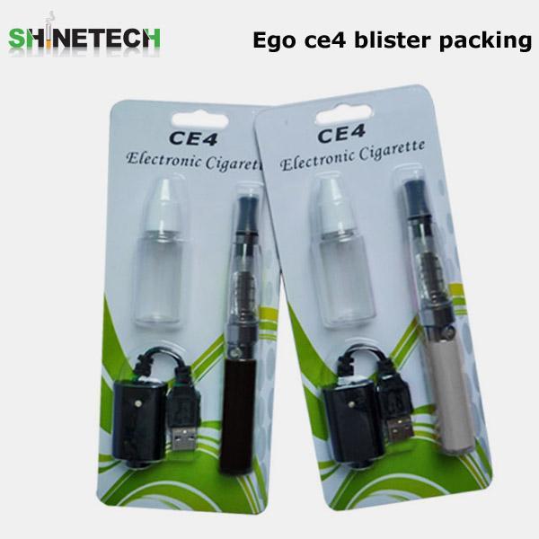 Cheap cigarette electronique USB cable +CE4 atomizer +ego battery+ empty bottle e cigarette vaporizer ego ce4 for sale