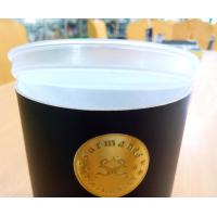 Buy cheap High End Tea Packaging Food Grade Paper Cylinder Containers With CMYK Printing product