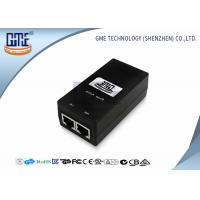 Quality GME 0.5A Poe Power Adapter , Switching Power Over Ethernet Poe Adapter wholesale