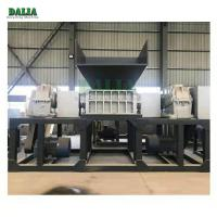 Quality Top Feed Structure Scrap Metal Shredder Equipment For Waste Mattress / Rubber Foam wholesale