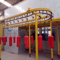 Quality Complete Powder Coating Line Powder Coating System For Fire Extinguisher wholesale