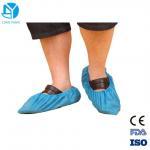 Quality Anti Skid Plastic Disposable Shoe Covers For Workmen 41*15cm / 38*16cm wholesale