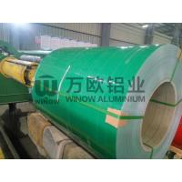 Quality Roofing PE PVDF Painted Aluminium Coil Easy Constructed 900-1500mm Width wholesale