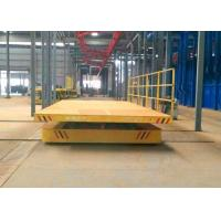 China Electric railway track industry transport bed with large platform on sale