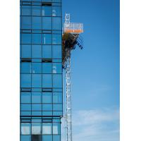 Double and Single 200m Mast Climbing Work Platforms For Hotel Cleaning, High Security
