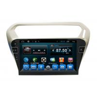 Quality Quad Core Car Dvd Player Peugeot Navigation System 301 Kitkat Systems wholesale