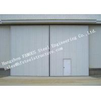 Quality Sectional Horizontal Industrial Sliding Doors With Access Pedestrian Door For Workshop wholesale