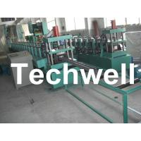 Quality 18 Groups Forming Roller Stand Upright Rack Roll Forming Machine for Storage Rack wholesale