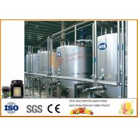Quality Complete Tomato Paste Processing Line , Mulberry Jam Production Equipment wholesale