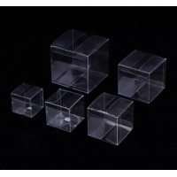 China CMYK Clear Plastic Folding Boxes on sale