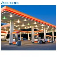 Cheap High Quality Waterproof Design Space Frame Gas Petrol Station Canopy Steel for sale