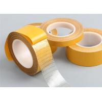 China Customized Size Double Sided Adhesive Cloth Tape For Carton Sealing on sale