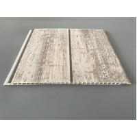 China Slab Decorative PVC Panels Transfer Printing Durable 7mm Thick for Ceilings on sale