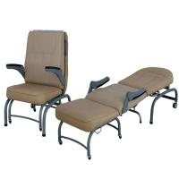 Quality Mobile Emergency Stretcher Trolley Luxurious Collapsible Attendant Chair Equipment wholesale