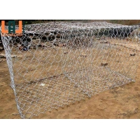 Hexagonal Hole Woven Gabion Wire Mesh For Flood Control Protection for sale