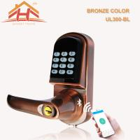 Quality Keyless App Controlled Front Door Lock Low Voltage Warning Auto Locking Mode wholesale