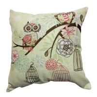 Indoor jacquard canvas couch cushion covers decorative pillows for