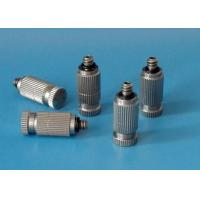 Quality Stainless steel high pressure anti-drop fog misting fine spray nozzle wholesale
