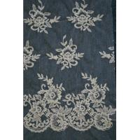 Cheap 2013 hot sale embroidery lace fabric for wedding dress for sale