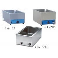 Quality Kitchen Food Preparation Equipments Stainless Steel Electric Bain Marie For Food Warm wholesale