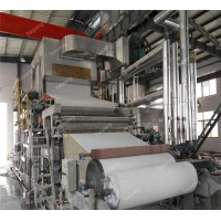 China Low price paper roll production line/kitchen paper making machine/toilet tissue paper making machine on sale